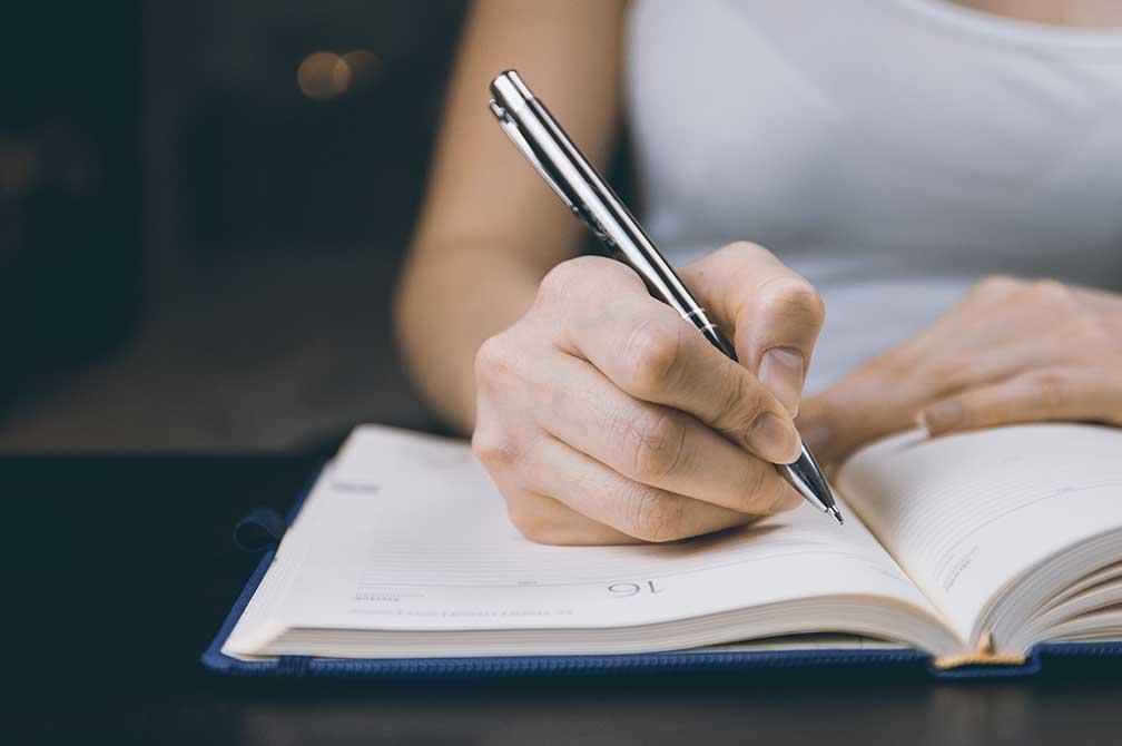 書くのはそんなに大変じゃないと思う