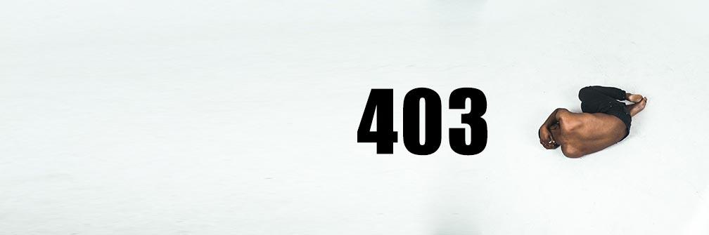 403エラーのよくある原因
