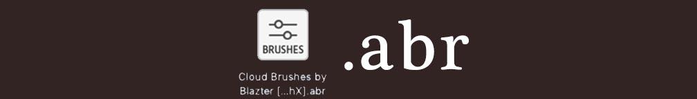 フォトショでブラシ素材.abr を追加する