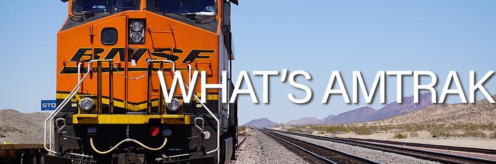 【全米を横断】巨大鉄道アムトラック(Amtrak)とは