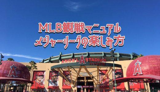 【MLB観戦マニュアル】メジャーリーグの楽しみ方