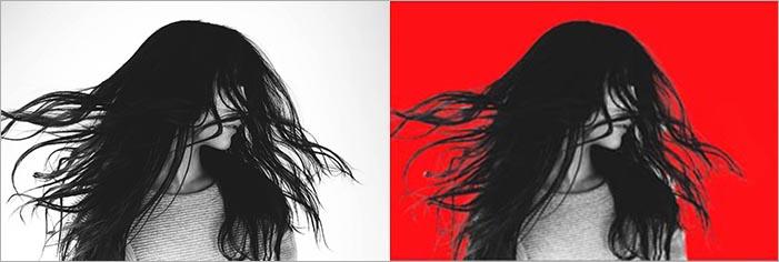 「選択とマスク」髪の毛を切り抜く5つの手順