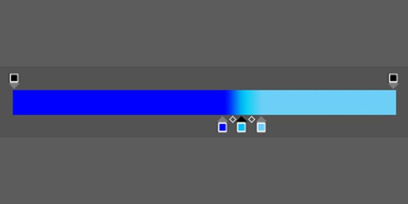 ②-3:バー中央で四角③を作り、色と位置を設定-2