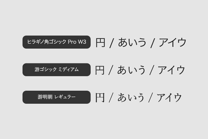 【文字に使える】おすすめ和文フォント