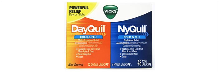 Vicks DayQuil NyQuil Cold and Flu Relief(デイクイル ナイクイル)