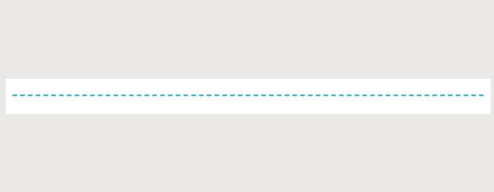 divタグとCSSで水平線を作る